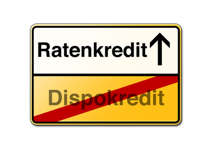Dispkredit ade und günstigen Ratenkredit abschliessen